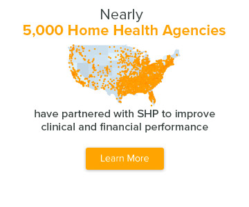 nearly 5,000 home health agencies use SHP